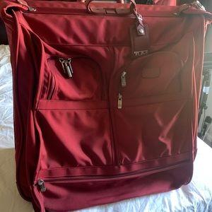Tumi traveling bag/ garment bag